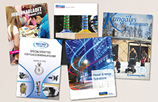Broschyrer och kataloger